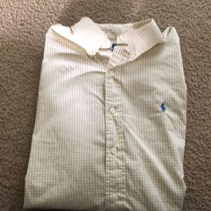 Long sleeve polo shirt. Great condition